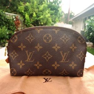 Louis Vuitton monogram cosmetic pouch small bag